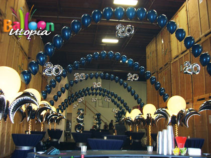 san diego corporate decor by san diego corporate event specialists balloon utopia - Event Decorations
