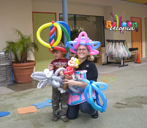 birthday party balloons decoration. We offer alloon decor and