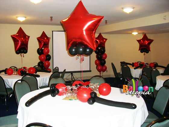san diego employee event decor by balloon utopia