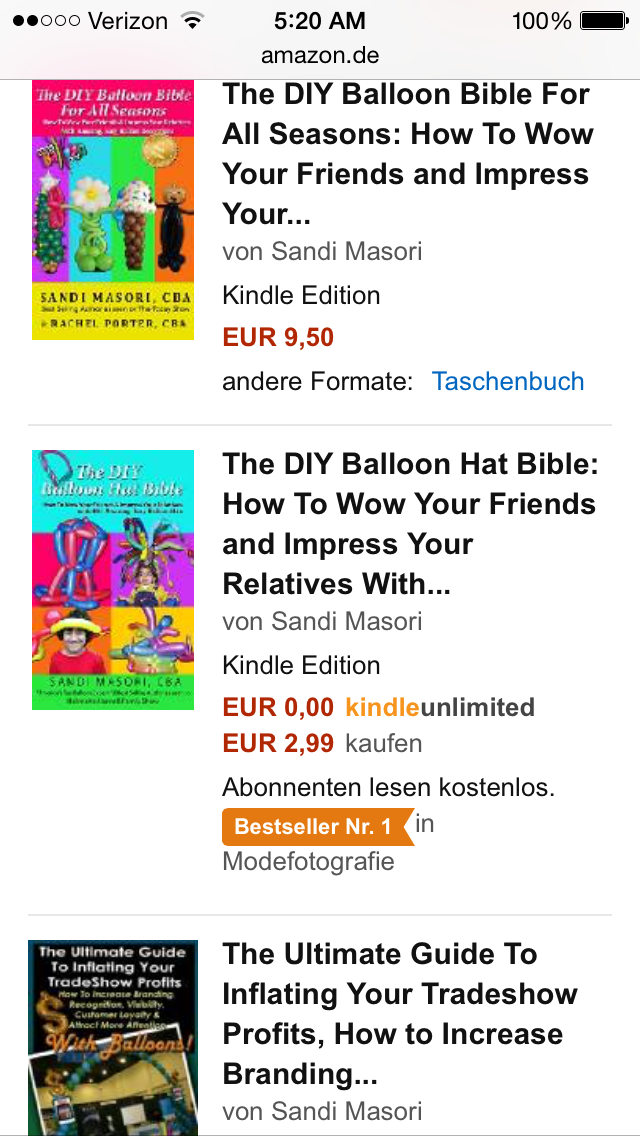 screenshot of # 1 Diy Balloon Hat Bible